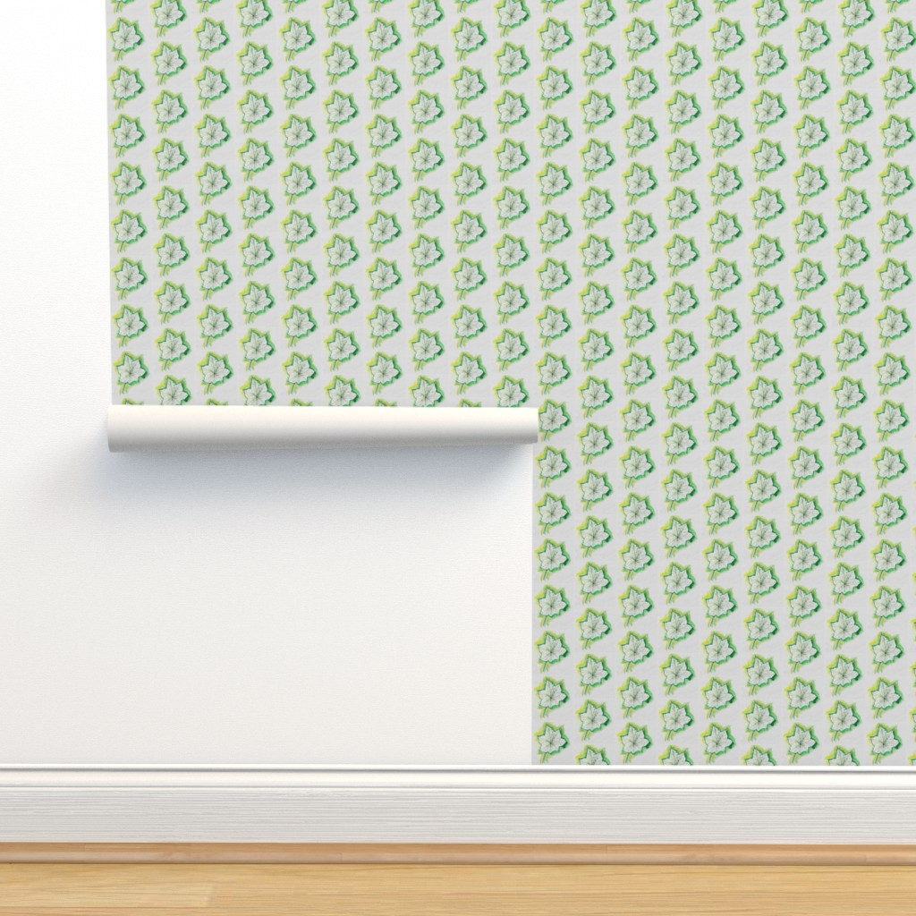 Isobar Durable Wallpaper featuring greenleaf by sandravincent