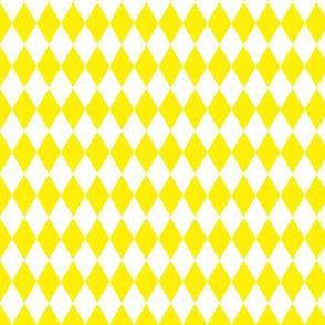 Yellow and White Harlequin