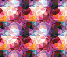Geodesic dome pattern