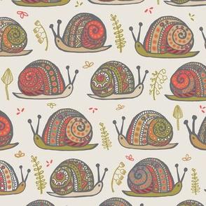 Snails Orange