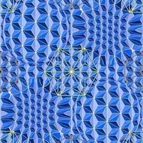 Geodesic Asanoha (Bicolor 2)
