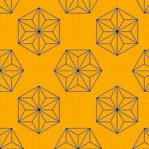 Asanoha Hexagons (Safran)