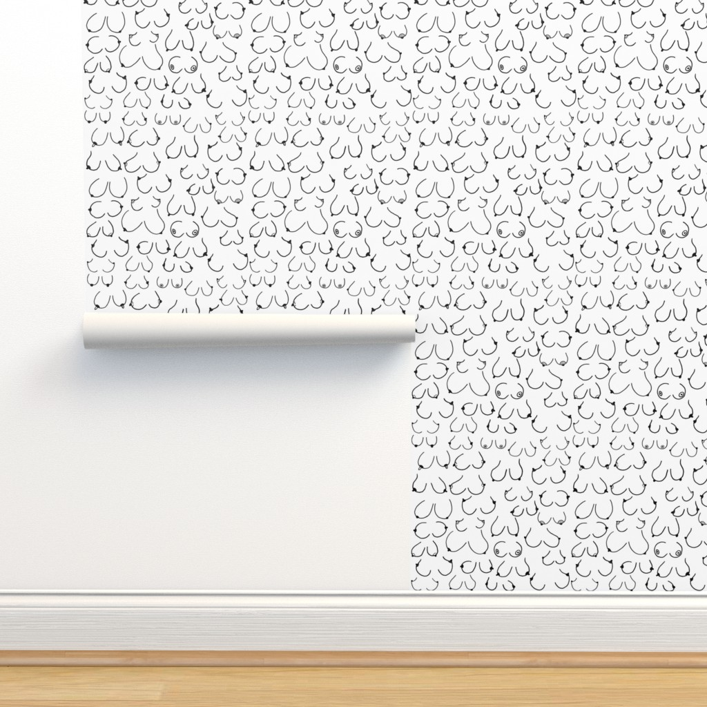 Isobar Durable Wallpaper featuring Simply the breast by hazelnicholls