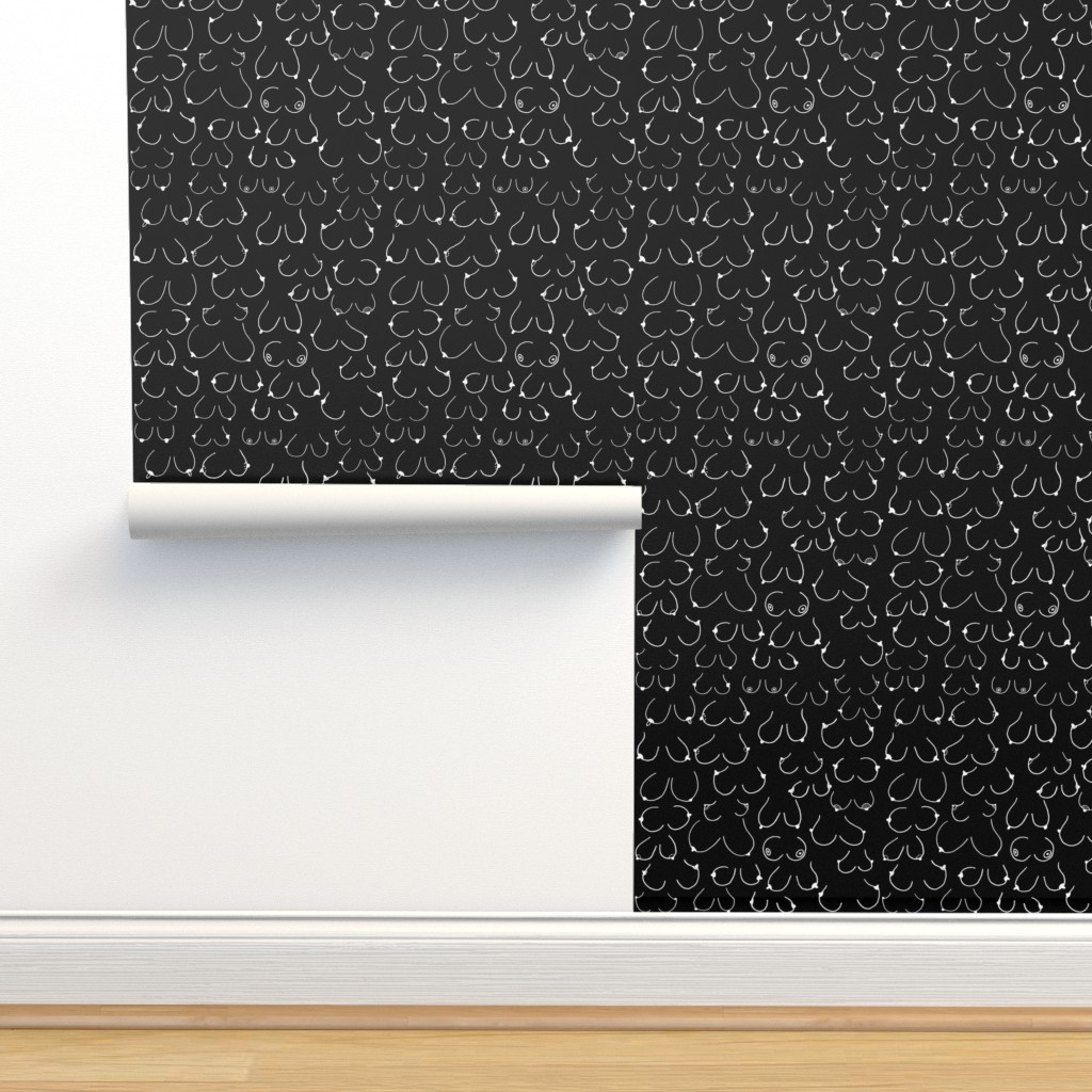 Isobar Durable Wallpaper featuring Inverted Simply the breast by hazelnicholls