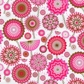 geodesic pink