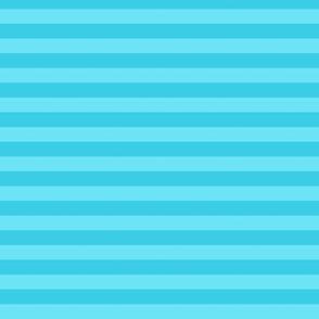 2-Tone Aqua Stripes