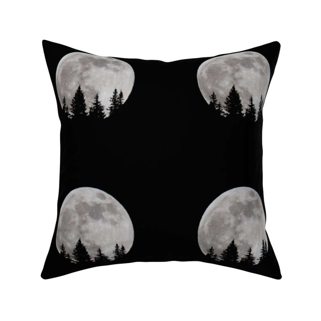 Catalan Throw Pillow featuring Moonlight by tetonbadger