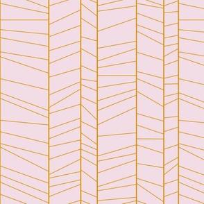 rainforest stripes on pink