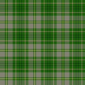 "Taylor family tartan, 6"" weathered grey/green"