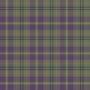 "Taylor family tartan, 6"" weathered mauve"