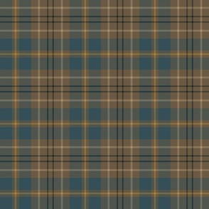 "Taylor family tartan, 6"" weathered slate blue"