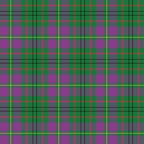 "Taylor family tartan, 6"" purple"