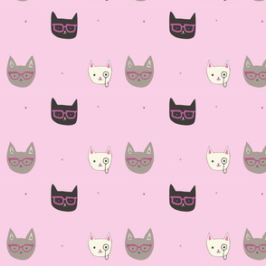 Spectacle of Kittens-Pink