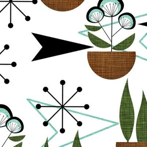 Atomic Arrows and Houseplants