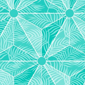 6202592-geodesic-palm-turquoise-by-mia_valdez