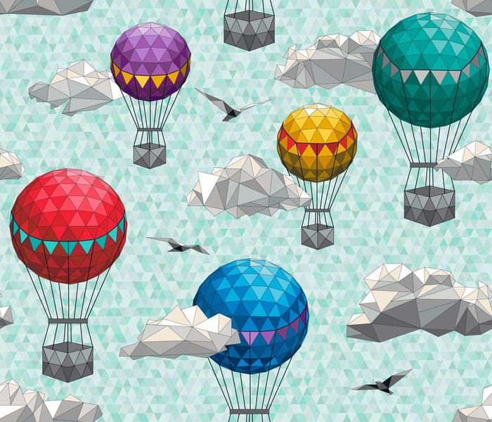 Geodesic Skies