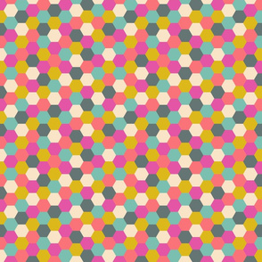 Multicolor honeycombs
