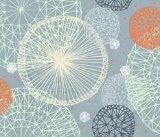Geodesic in Slate Blue by Friztin