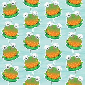 watercolour Frogs small