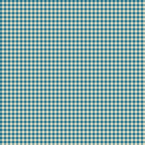 Quarter Inch Blue Gingham