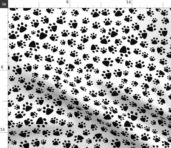 Fat Quarter London Cats Paws For Thought 100/% Cotton Quilting Fabric