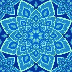 06211629 : fire mandala8 : in blue blazes