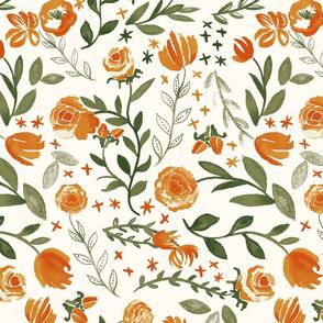 Lavish Orange-Green