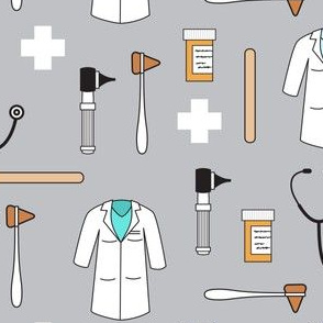 doctor/medical fabric