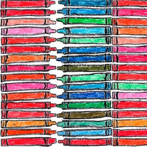 "Two hundred and sixteen crayons (3"" Crayons)"