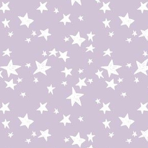 star fabric // lavender purple stars fabric pastel purple star fabric