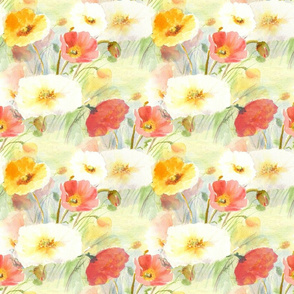 California_Poppies 17x17