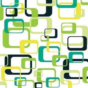 Mod Boxes Scramble - Green With Envy