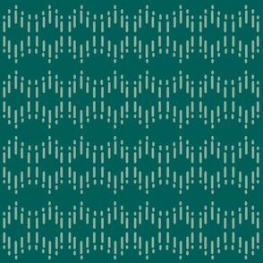 Smudges - Emerald & Sage