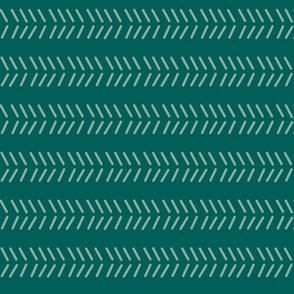 Mudcloth - Emerald & Sage