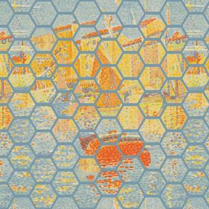Hexagon Impression of Signac