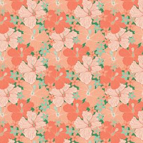 Lush Tropical Hibiscus