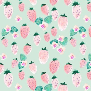 INDY BLOOM DESIGN strawberry blossom_Mint_A