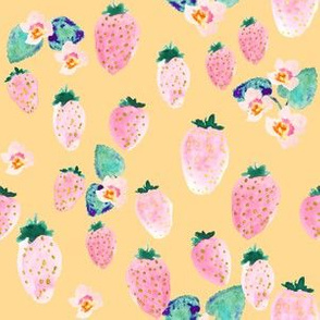 INDY BLOOM DESIGN strawberry blossom_Lemon