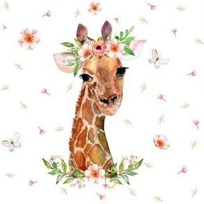 "7"" Floral Giraffe"