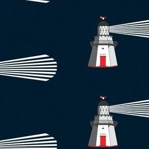 Waipapa Lighthouse ~ indigo