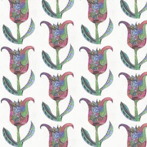 Thinking Spring Tulip