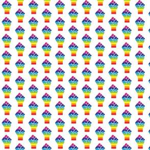 Pride Fist SMALL- Rainbow Pride - LGBTQ Pride