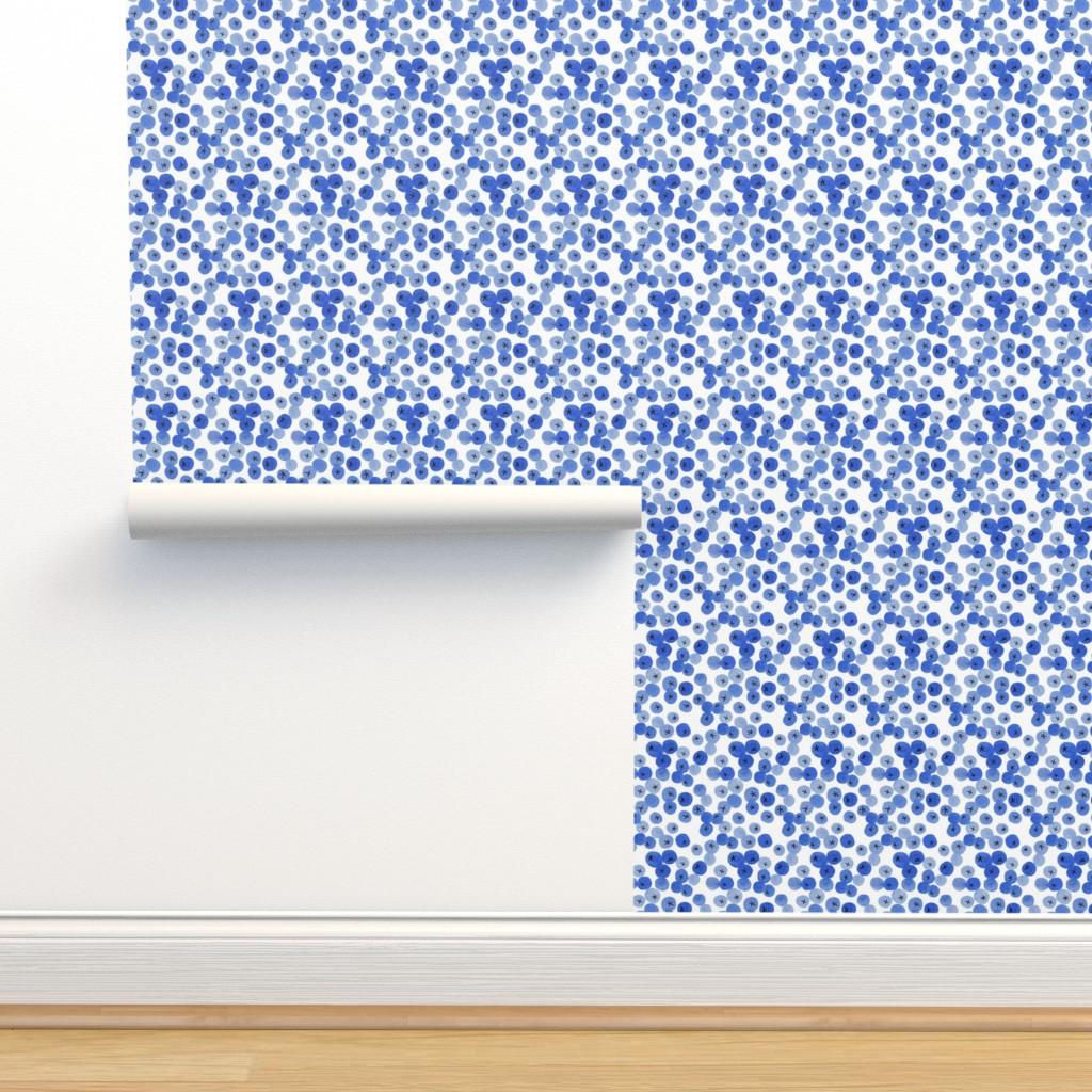 Isobar Durable Wallpaper featuring Blueberry  by j_e_c_scott