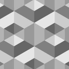06244610 : hexagonal dimples : grey stone