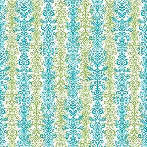 Ornamental Stripe - Sewing Swatches A