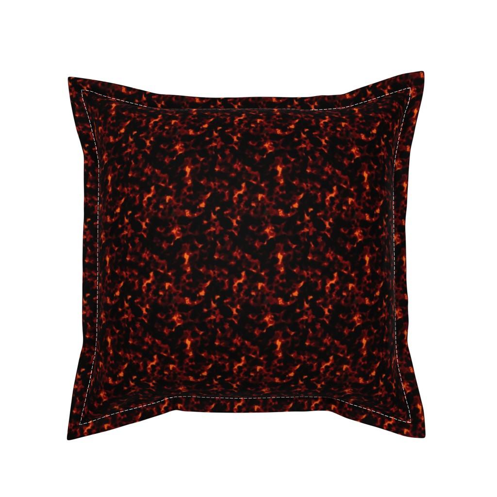 Serama Throw Pillow featuring Dark Tortoiseshell by elliottdesignfactory