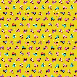 Fun colorful retro roller skates disco fun vivid illustration print XS