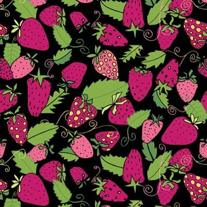 Strawberries and Mint - by Kara Peters