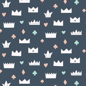 Crown - navy