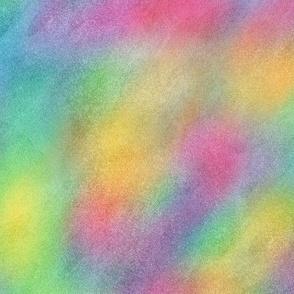 Bright Rainbow Watercolor Pattern